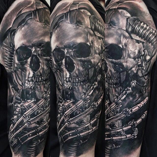 Do You Prefer Black And Grey Tattoos