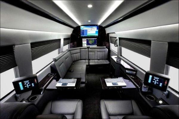 Luxury New Mercedes Benz Sprinter Van