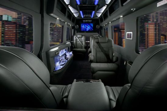 Luxury New Mercedes Benz Sprinter Van
