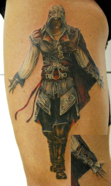 Video game tattoos for The game tattoos