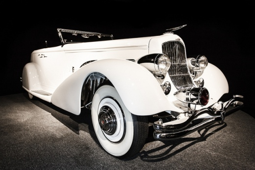 1936-Duesenberg-Model-SJ-Convertible-Sedan-Front-Profile (1)