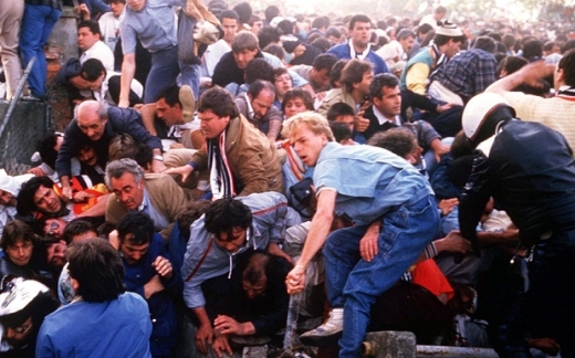 HEYSEL STADIUM DISASTER, EUROPEAN CUP FINAL, BRUSSELS, BELGIUM - 1985