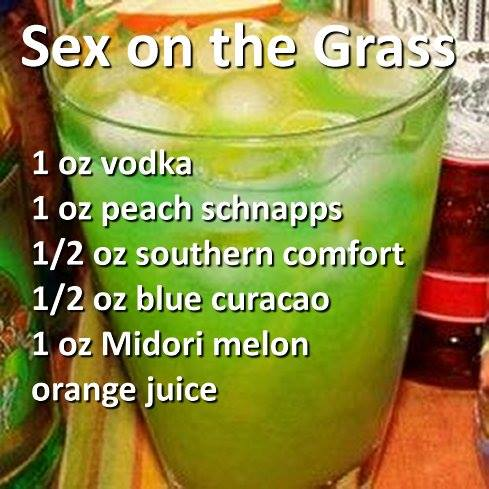 Cocktails and mixed drinks for Names of mix drinks