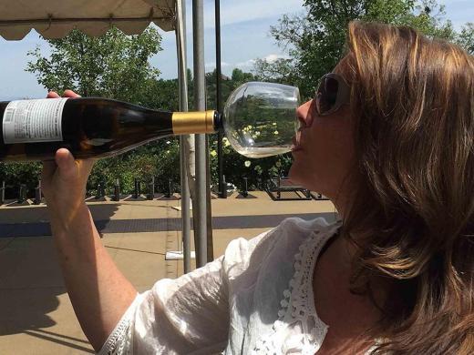 guzzle-buddy-drinking-wine