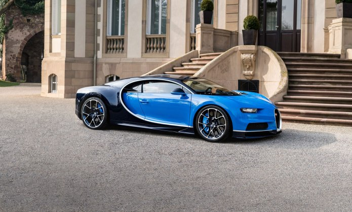 The Matching Pair Bugatti Chiron Supercar And Super Yatcht