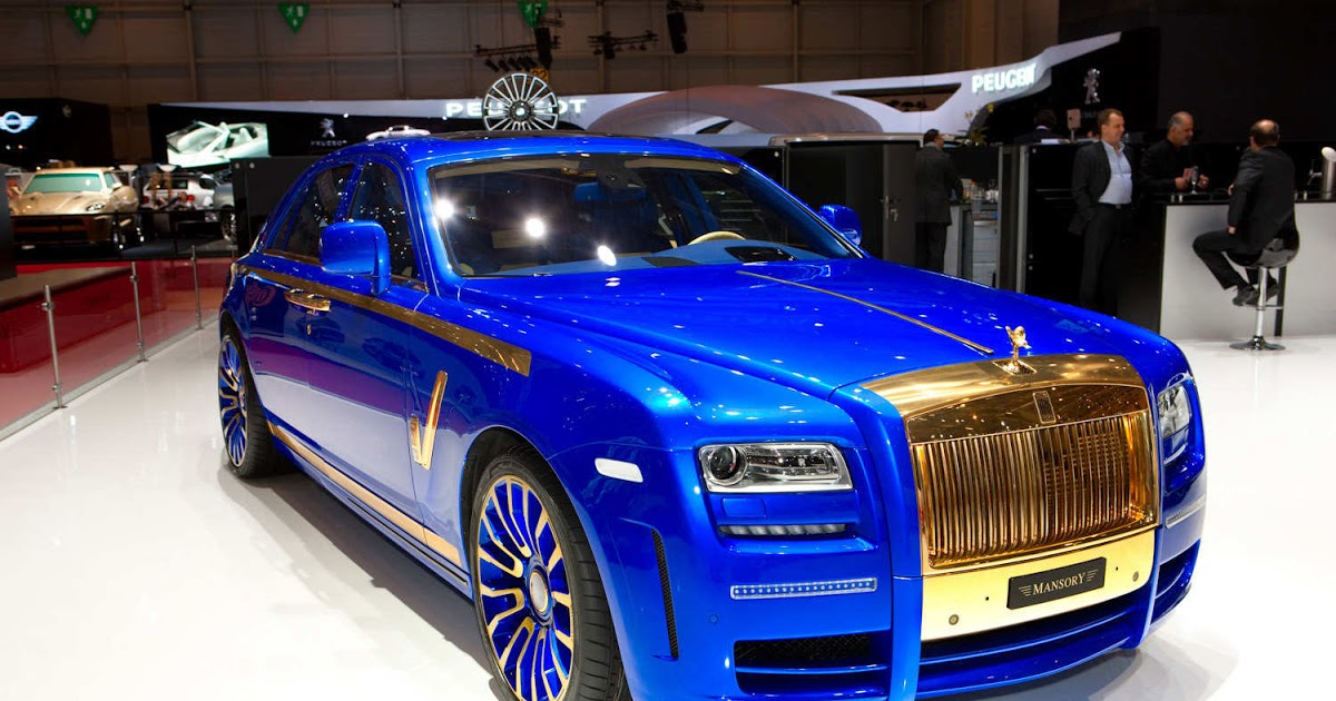 Led Lights For Cars >> MANSORY Rolls-Royce Ghost – Blue / Gold