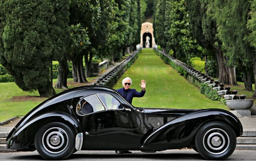 The Magnificent 1938 Bugatti Type 57sc Atlantic Coupe From